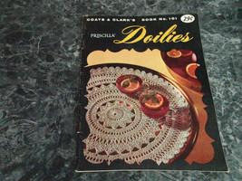 Priscilla Doilies book 101 Coats & Clarks - $2.99