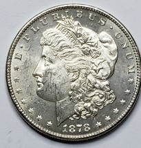 1878S MORGAN SILVER DOLLAR COIN Lot# 519-10
