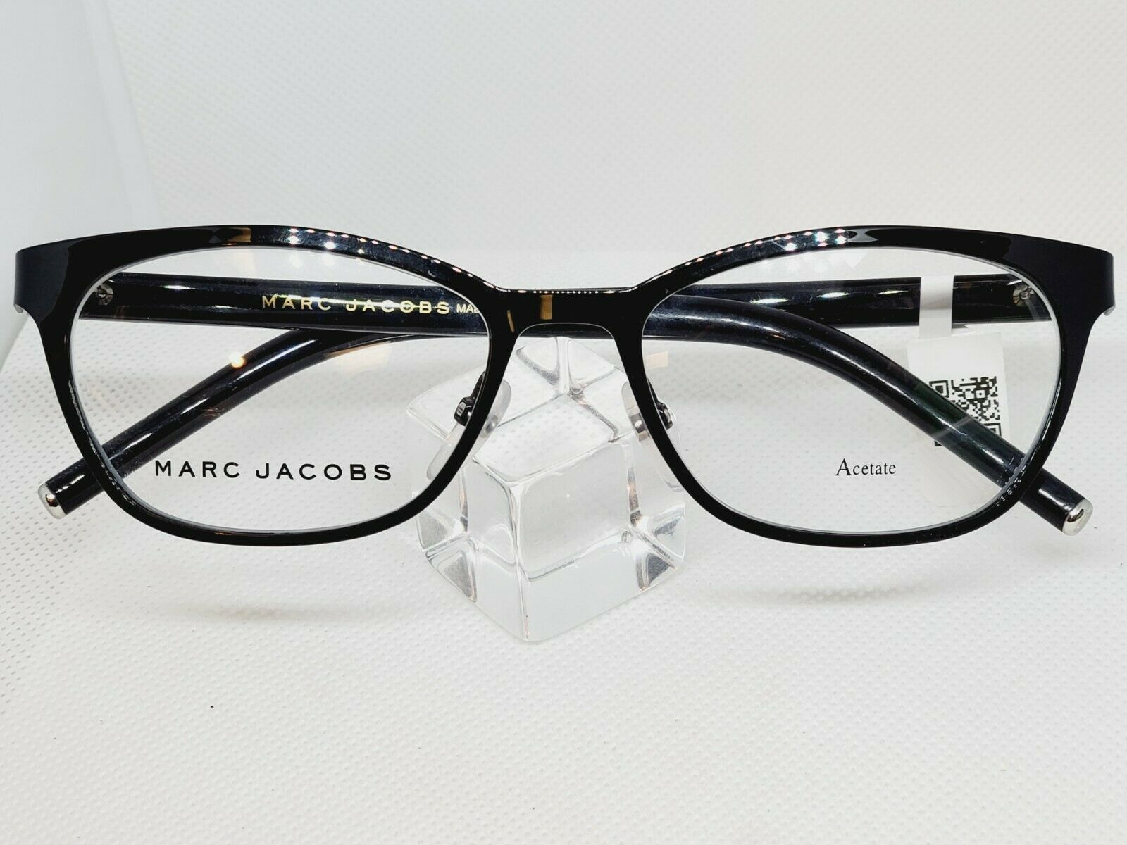 Primary image for New Marc Jacobs Ladies Eyeglass Frame MARC 77 65Z Shiny Black 52 mm