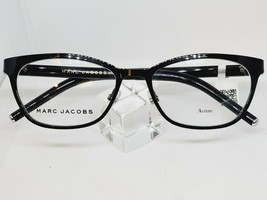 New Marc Jacobs Ladies Eyeglass Frame MARC 77 65Z Shiny Black 52 mm - $118.79