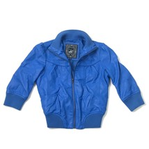 Beverly Hills Polo Club Jacket Boys Size M Medium Kid Blue Full Zip Coat Hip Hop - $19.13