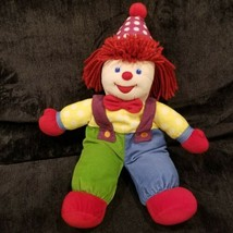 "Gymboree Vintage Clown Plush Doll 20"" Corduroy  - $19.79"