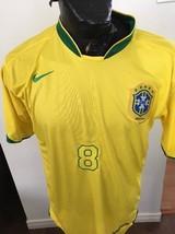 Adult Large Soccer Football Futbol NIKE Jersey BRASIL BRAZIL #8 KAKA - €15,86 EUR