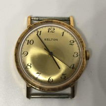 Vintage Mens Kelton (Timex) US Time Wrist Watch - $34.64