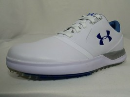 Under Armour Performance Golf Shoes Size 7 Women's White Leather 1297176... - $36.99