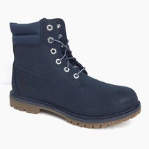 """Timberland Women's 6"""" Double Collar Dark Navy Waterproof Boots A182P - $1.581,88 MXN"""