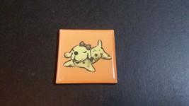 Ceramic figurine pet dog orange color Year of the Dog 2018 Magnet Hong K... - $5.90
