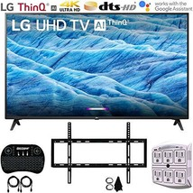 "Lg 49UM7300PUA 49"" 4K Hdr Smart Led Ips Tv w/AI Thin Q (2019) + Flat Wall Mount U - $435.59"