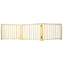 Four Paws Expandable Dog Gate, Wood Gate for Dogs, 3-Panel - $49.59