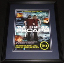 Great Escape 2012 TNT Framed ORIGINAL Vintage 11x14 Advertisement Ron Ho... - $32.36