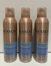 3 (Three) New Nexxus Between Washes Smooth & Clean Dry Shampoo Foam -6.8ozs each - $34.99