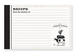 Farmer's Market Recipe Card - $5.99