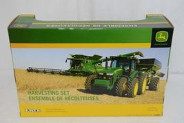 John Deere TBE45443 Die Cast Metal Replica Harvesting Set image 7