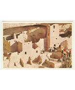 Postcard Cliff Palace Ruin Mesa Verde National Park Colorado Unused - $5.93
