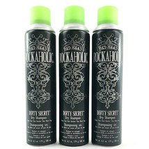 3 Pack Bed Head Dry Shampoo Rockaholic Dirty Secret Hair Wash TIGI 6.3 Oz Each - $27.46