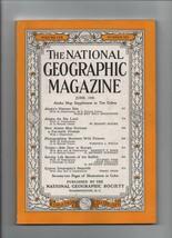 National Geographic - June 1956  Alaska's Warmer Side, Trieste, Sailfish... - $3.43