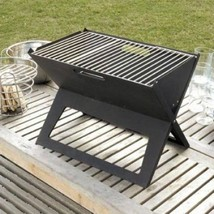 Portable Charcoal Grill Outdoor Camping BBQ Barbeque Yard Small Barbecue... - $32.43