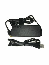 Genuine Lenovo ThinkPad 90W Laptop Charger 20V Adapter ADLX90NLC2A Square Tip - $14.20