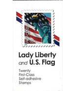 2006 39c Statue of Liberty & Flag, Vending Booklet of 20 Scott 3974 Mint... - €14,81 EUR