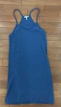 Joie Basic Short Cotton Tank Dress Womens Size XXS Blue New - $9.49
