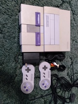 Super Nintendo SNES Console Bundle ***Parts Or Repair*** image 1