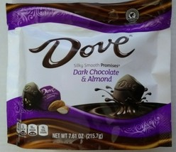 Dove Promises Dark Chocolate & Almond Candies - 7.6oz - $10.88
