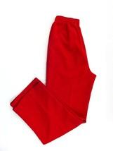 ALIA Woman Pants Size 10 Scrubs Uniform Nurse Elastic Waist Band Red - $20.97