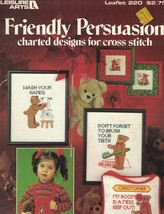 Leisure Arts 220 Friendly Persuasions For Cross Stitch 1982 Wash Your Hands - $4.95