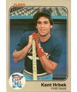 1983 Fleer Kent Hrbek # 616 - $3.43