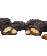 Philadelphia Candies Almondettes Caramel Almond Clusters, Dark Chocolate... - $23.71
