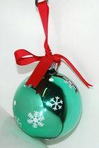 Ganz EX27946 I Love You Grandpa Snowman Christmas Ball Ornament Color Green image 3