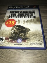 Brothers in Arms: Earned in Blood (Sony PlayStation 2, 2005) - European ... - $10.50