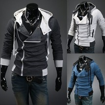 Men's Fashion Casual Men Tops Hoodies Sweatshirts Hoodie Coat Jacket Hoody Hoode - $65.28