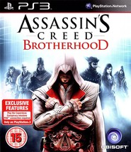 Assassin's Creed Brotherhood PS3 (Playstation 3) - Free Postage - UK Seller - $7.87