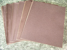 60pc SILICON CARBIDE Wet / Dry SANDPAPER SHEETS 9x11 Very Fine Coarse As... - $19.99