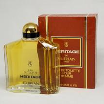 Guerlain Heritage Pour Homme Cologne 4.2 oz Eau De Toilette Splash image 1