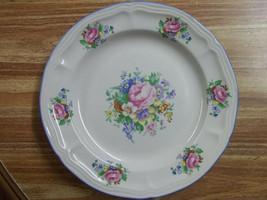 "Vintage Tabletops Unlimited Victoria Stoneware Salad/Dessert Plate 7 3/4"" Roses - $4.99"