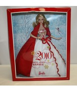 Mattel Holiday Barbie Collector Doll Beautiful Red & White Gown 2010 - $64.35