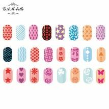Gam-Belle® Fashion Image Design Rectangle Stamping Plate Nail Art Templa... - $2.26