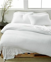 Calvin Klein Modern Cotton FULL/QUEEN Julian Duvet Cover White - $138.59