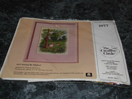 The Creative Circle 1677 Swing Me Higher Cross Stitch Kit - $5.99