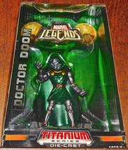 Marvel Leyenda Titanio Serie Die-Cast Metal Doctor Doom Figura Nuevo Sel... - $22.39