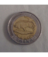 South African 5 Rand Coin Circulated - $15.19