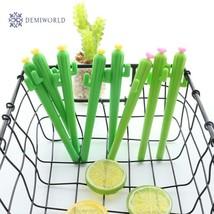 1Pcs New Cute Creative kawaii Cactus Gel Pen Succulent Plants Stationery... - $1.15