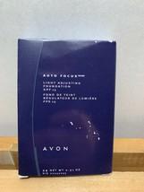 Avon Auto Focus Light Adjusting Foundation SPF 15 WARMEST BEIGE new old stock - $16.99