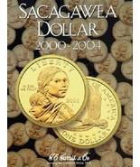Sacagawea Dollar Coin Folder Album #1 2000-2004 P&D by H.E. Harris - $8.49