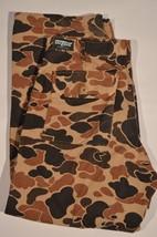 VINTAGE Duck Hunting SafTBak Lined Waterproof Army Camo Pants SZ 38 X 28 - $23.11