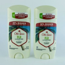 2-Pack Old Spice Fiji Anti-Perspirant Deodorant 3.4 oz (30% Bigger) Exp.... - $19.79
