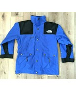 THE NORTH FACE Mens Jacket Vintage 90s Goretex Mountain Guide Blue Black... - $98.99