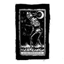 Too Fast Club 27 Dead Moon Rockers Gotico Punk Pentagramma Panno Patch image 2